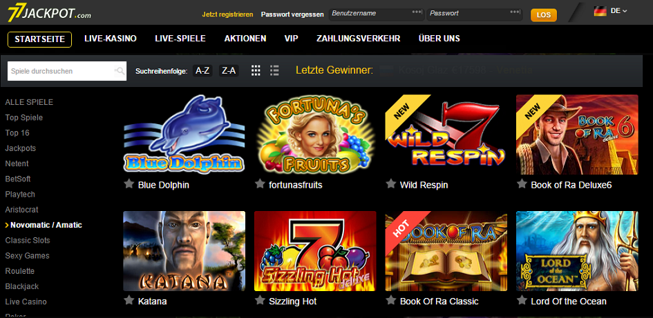 welches online casino online jackpot