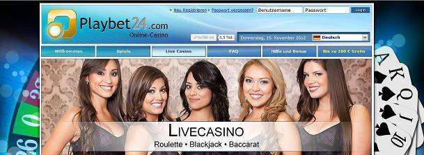 Playbet24 Casino
