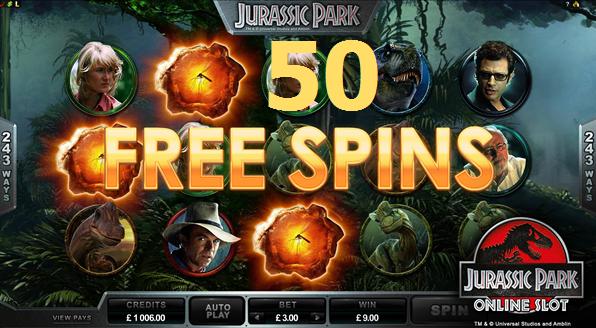 Jurassic Park Onlinen Slot