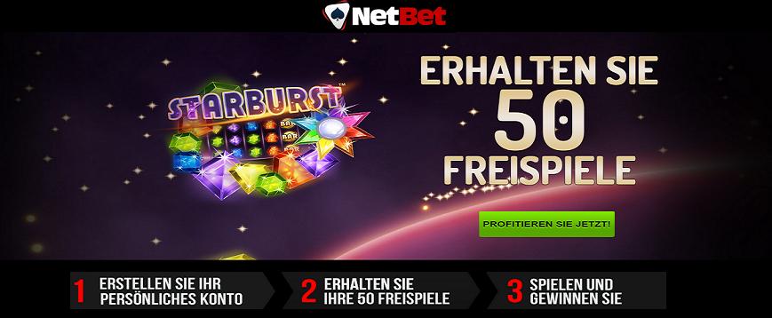 Netbet Casino 50 Freispiele